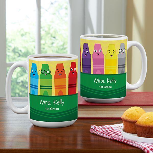 Colorful Crayons Mug