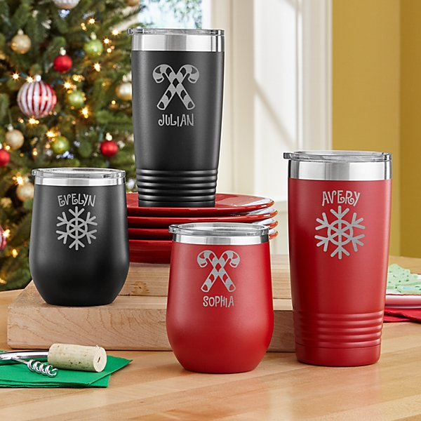Cup of Cheer Christmas Tumblers