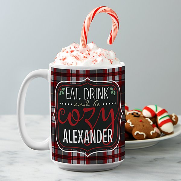 Eat, Drink and Be Cozy Mug