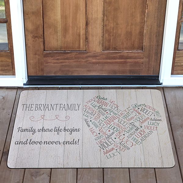 Full of Love Doormat