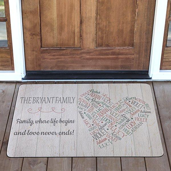 Full of Love Doormat