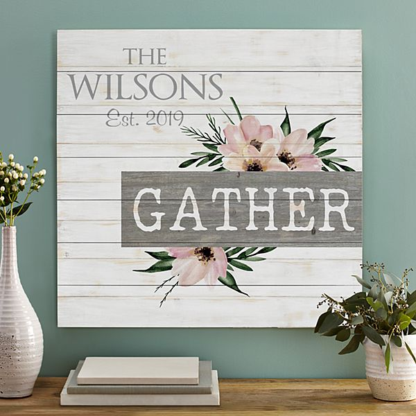 Gather Oversized Wood Pallet Wall Art