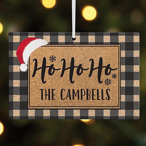 Ho Ho Ho Rectangle Ornament