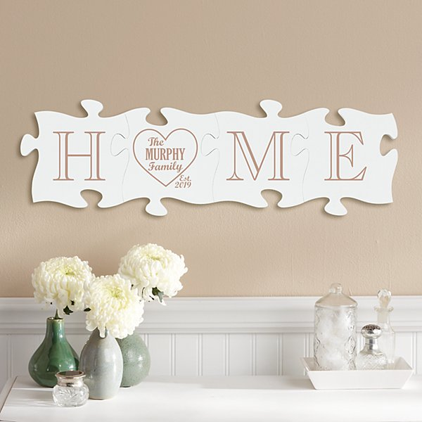 Home Is Us Mini Puzzle Piece Set