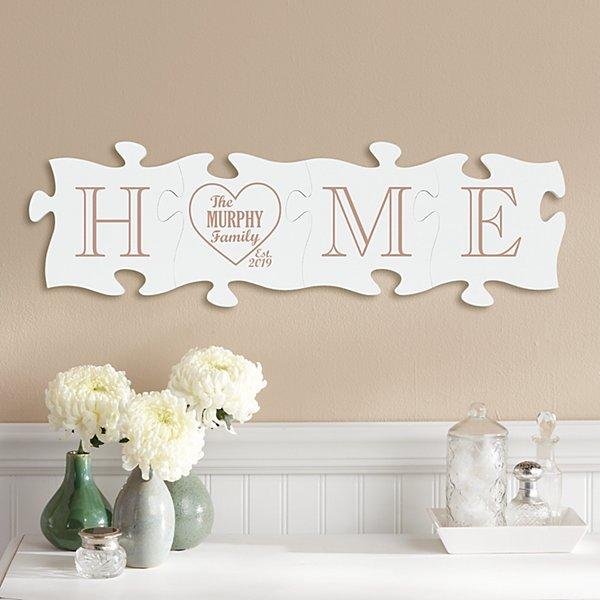 Home Is Us Mini Puzzle Piece Set