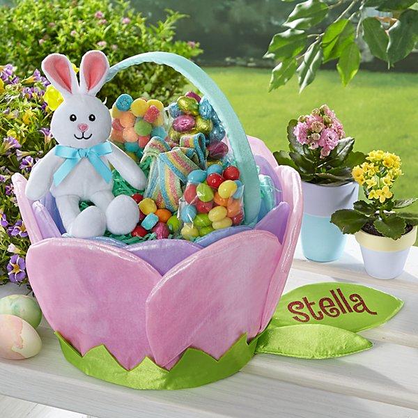 Pretty Petals Easter Basket
