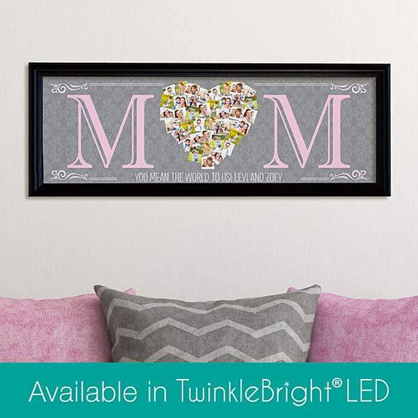 Mom's Heart Photo Canvas