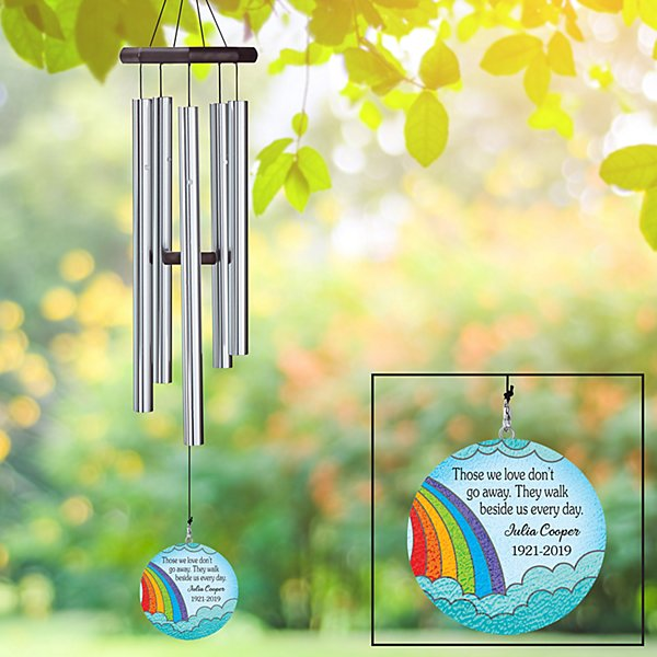 Colors of Comfort Sympathy Wind Chime