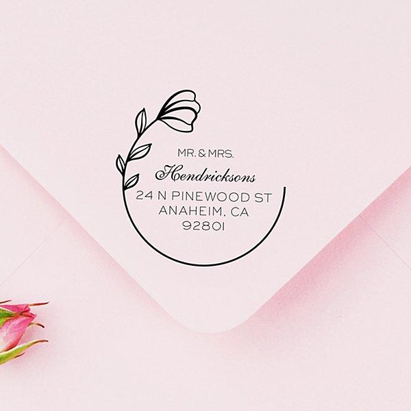 Blooming Flower Self-Inking Stamp
