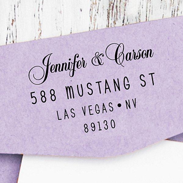 Modern Elegance Self-Inking Stamp