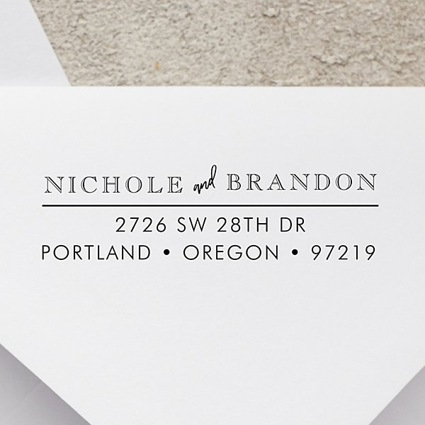 Perfectly Paired Self-Inking Stamp