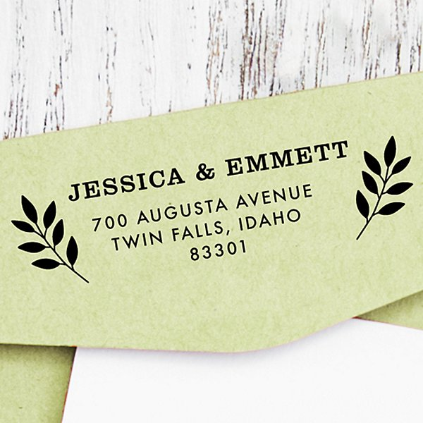 Twin Boughs Self-Inking Stamp