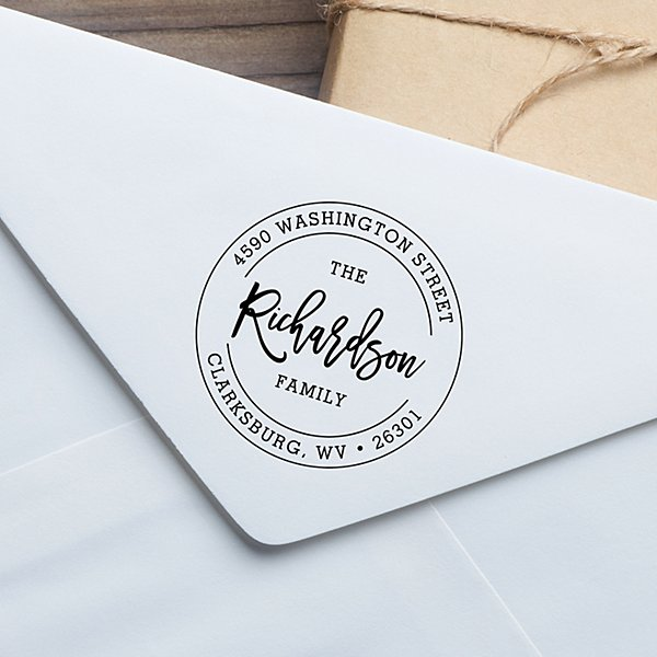 Signature Seal Self-Inking Stamp