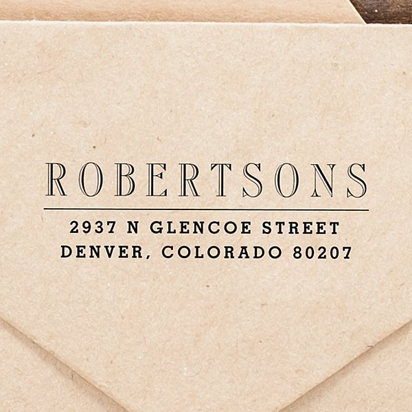 A Name to Remember Self-Inking Stamp