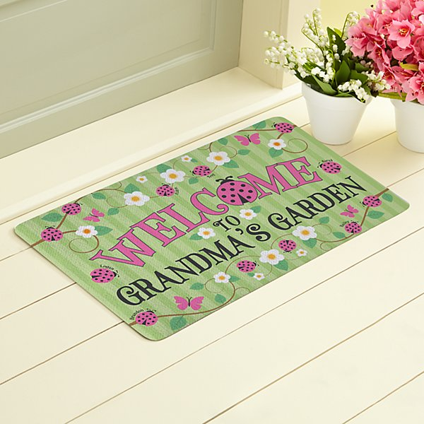Lady Bug Garden Doormat