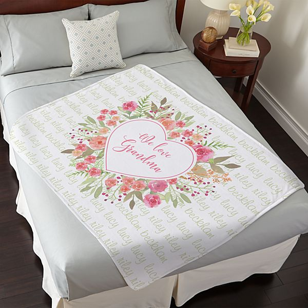 Abundant Heart Plush Blanket