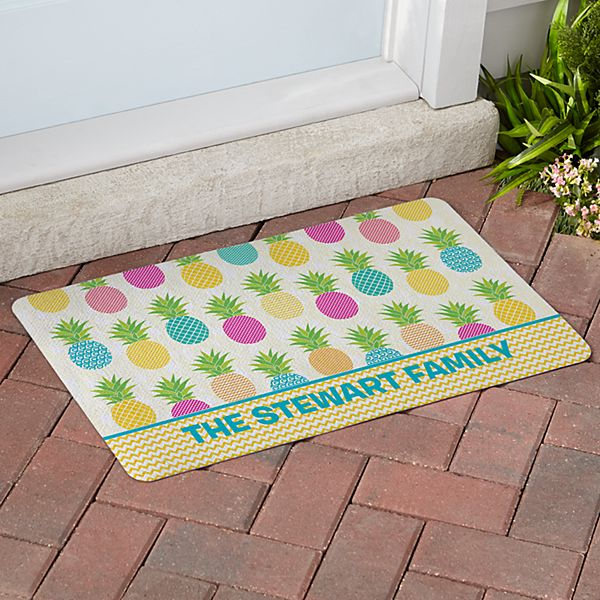 Pineapple Paradise Doormat