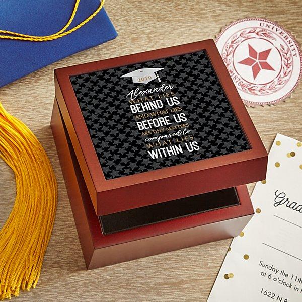 What Lies Within Graduation Keepsake Box
