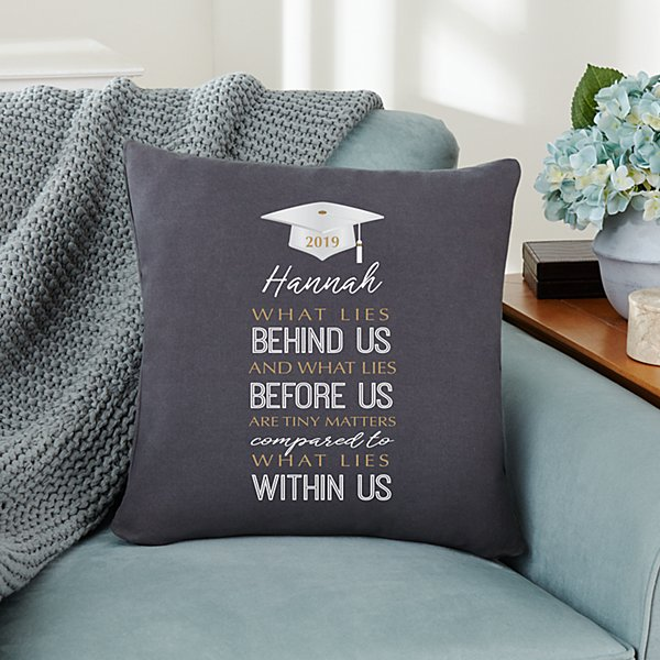 What Lies Within Graduation Throw Pillow