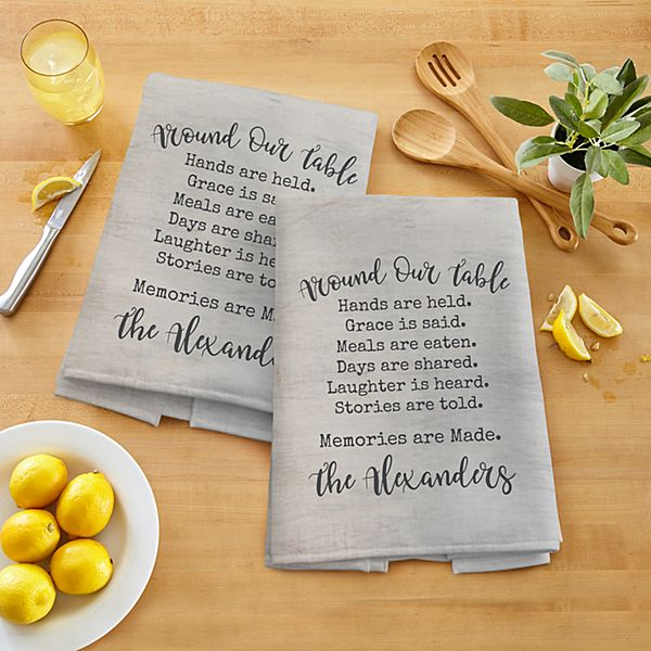 Around Our Table Kitchen Towel