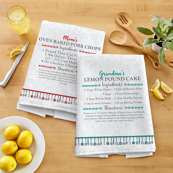 Your Family Recipe Kitchen Towel