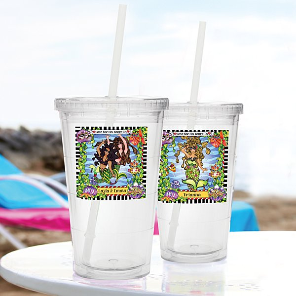 Being with My Girl-Fins Tumbler by Suzy Toronto