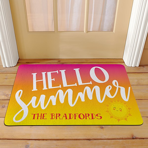 Hello Summer Doormat
