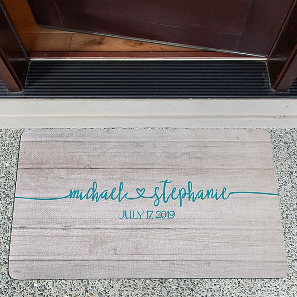 Always Together Wedding Doormat