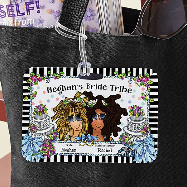 Bride Tribe Luggage Tag by Suzy Toronto