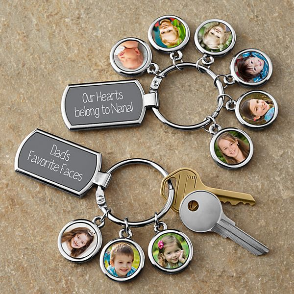 Photo Message Key Chain