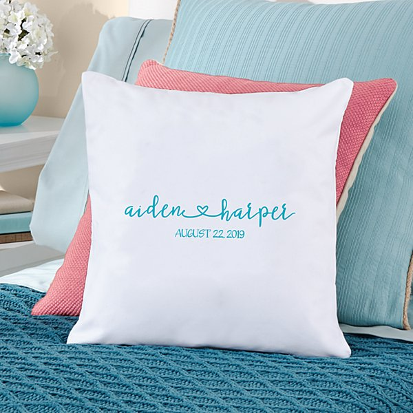 Always Together Wedding Throw Pillow