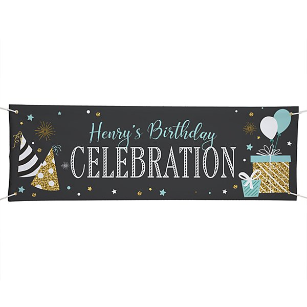Chalkboard Celebration Banner - 6ft