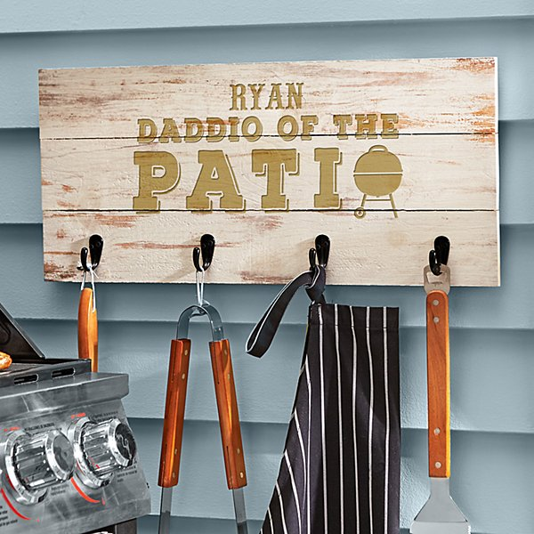 Daddio of the Patio BBQ Tool Rack