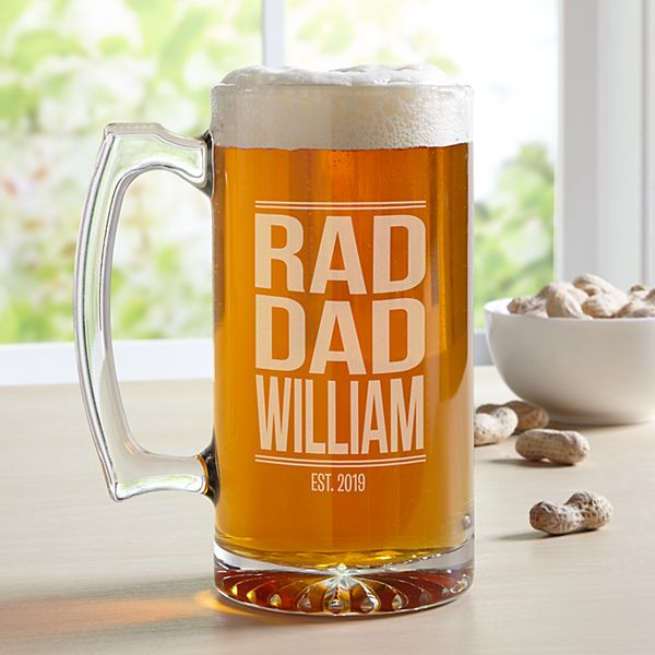 Rad Dad Oversized Beer Mug