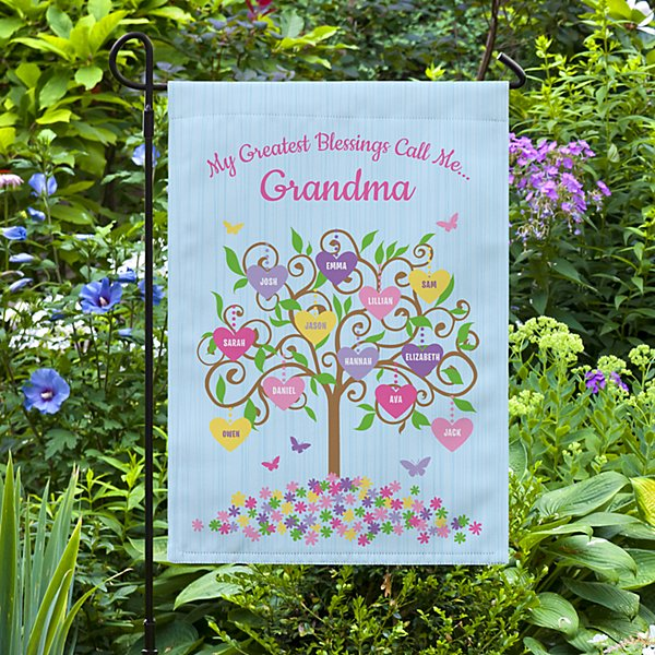 Branches Bloom with Love Garden Flag