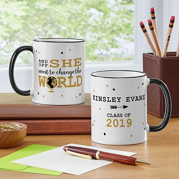 Change The World Graduation Mug