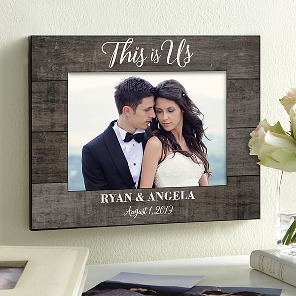 This Is Us Wedding Picture Frame