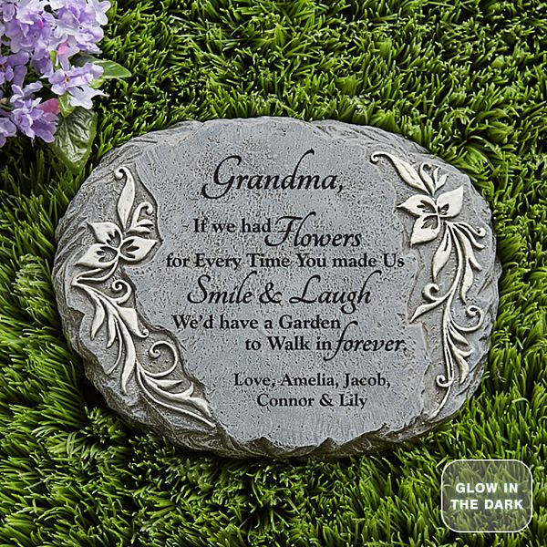 Forever Garden Glow Stepping Stone