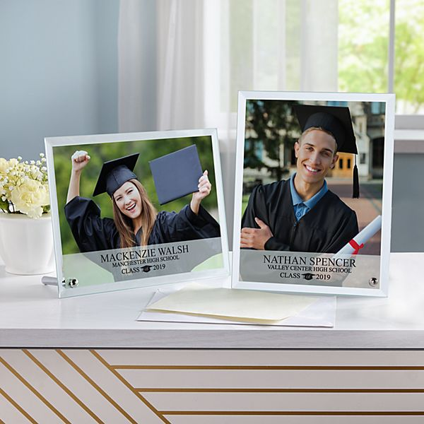 Graduation Glass Photo Message Frame