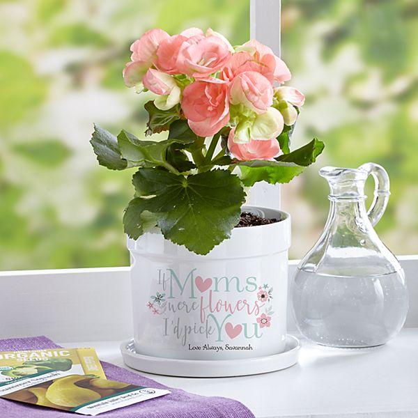 I'd Pick You Flower Pot