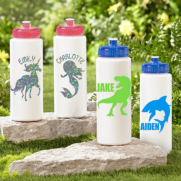 32oz Graphic Water Bottles