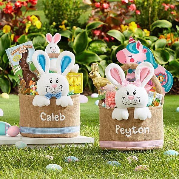 Bunny In A Basket Easter Basket