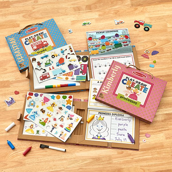 Melissa & Doug® Play, Draw, Create Books