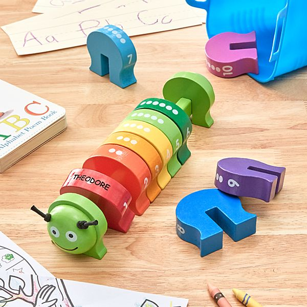 Melissa & Doug® Wooden Counting Caterpillar
