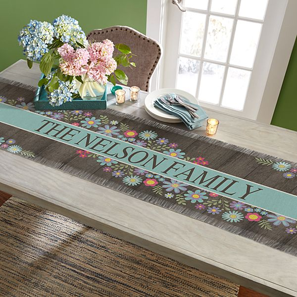 Spring Is Here Table Runner