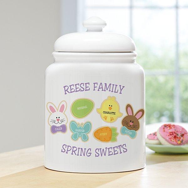 Sweet Bunny Treats Cookie Jar