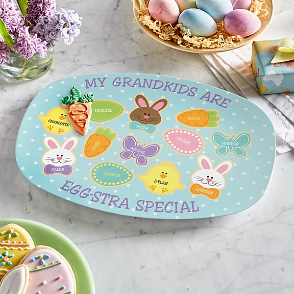 Sweet Bunny Treats Platter