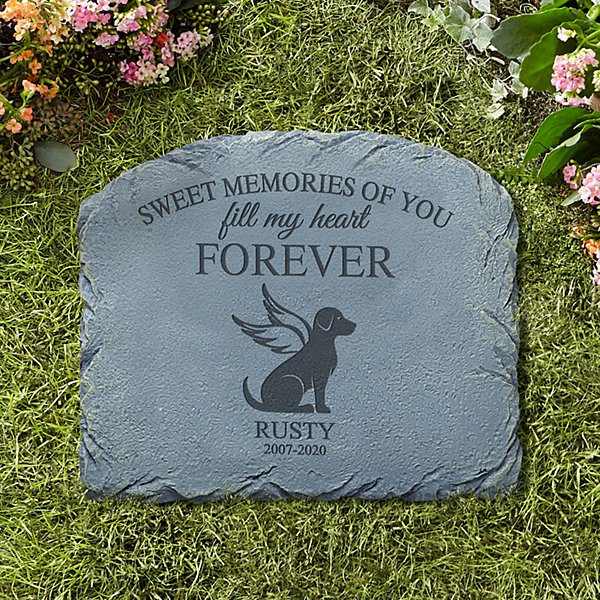 Forever Friend Pet Memorial Stone