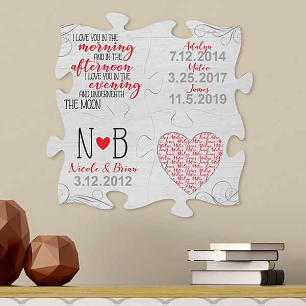 One Of A Kind Love Mini Puzzle Piece Set