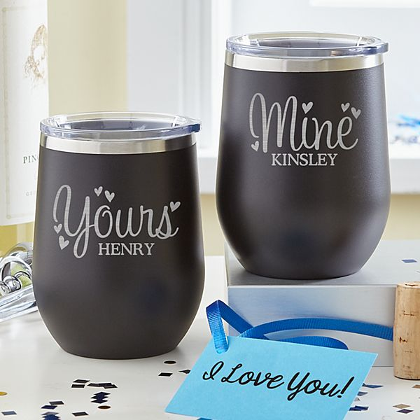 Yours & Mine Insulated Tumbler Set